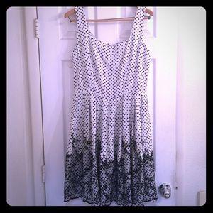 NY&Co Polka Dot Dress with Pockets